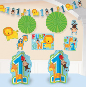 One Wild Boy 1st Birthday Party Room Decorating Kit