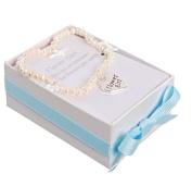 Mud Pie Flower Girl Heart Freshwater Pearl Bracelet 281104 MUD PIE