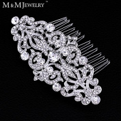 European Design Crystal Bridal Hair Comb Tiara Wedding Accessories