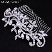 New Leaf Crystal Imitation Gemstone Bridal Hair Combs Hairpin Tiara Wedding Hair Accessories Hair Jewellery