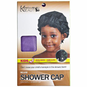 Konclusive Beauty Deluxe Kids Shower Cap