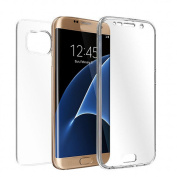 Galaxy S7 Edge Cover TOOPOOT Clear Soft TPU Full Body Protective Case For for Samsung Galaxy S7 Edge