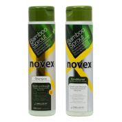 "Novex Bamboo Sprout Shampoo & Conditioner 300ml Duo ""Set"""