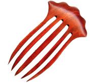 Baerreis Hair Fork, Bella, Cardinal Wood 11cm FP