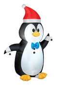 Gemmy 88305 Airblown Tuxedo Penguin Inflatable, Fabric