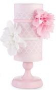 Mud Pie Baby Girl Home Organisation Pink and white Headband Holder 176223
