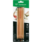 Tombow Recycled Coloured Pencils 5/PkgEarth