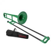 Jiggs pBone Plastic Trombone, Green