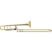 Bach 42Bo Stradivarius Series F-Attachment Trombone Lacquer Yellow Brass Bell Standard Slide