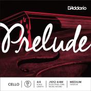 D'addario Prelude Cello D String 4/4 Size Medium