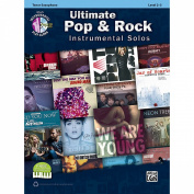 Alfred Ultimate Pop & Rock Instrumental Solos Tenor Sax
