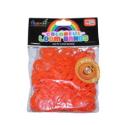 ASAH Scented Loom Bands 300pce with 16 S Clips - Orange
