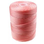 C-LON Bead Cord, Pink Lemonade - .5mm, 92 Yard Spool