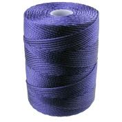C-LON Bead Cord, Persian Indigo - .5mm, 92 Yard Spool