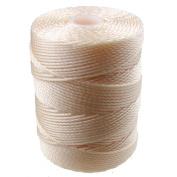 C-LON Bead Cord, Peach Glow - .5mm, 92 Yard Spool
