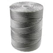 C-LON Bead Cord, Nickel - .5mm, 92 Yard Spool
