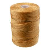 C-LON Bead Cord, Marigold Yellow - .5mm, 92 Yard Spool