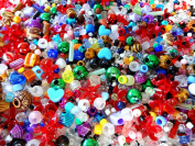 2.3kg of Assorted Craft Beads with Free 15cm x 23cm Dragon Storage Bag