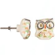 Heritage Hardware Ceramic Knob-Owl
