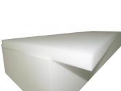 "Foam Cushion Upholstery (Sofa Seat Replacement, Upholstery Sheet, Foam Padding) 7.6cm T x 60cm W x 200cm L ""Medium Firm"""