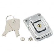 "Fujiyuan 5 pcs 1.55"" x 1.06"" 39.5mm x 27.1mm Latch Trunk Catch Box Toggle Case Draw bolt Bag lock Closure chest Suitcase Cabinet"