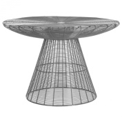 Safavieh Home Collection Reginald Grey Wire Coffee Table