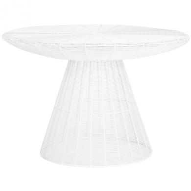 Safavieh Home Collection Reginald White Wire Coffee Table