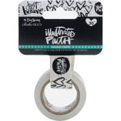 Illustrated Faith Basics Washi Tape-Just Believe