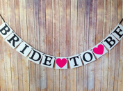 Chunney® Bride To Be Wedding Bunting Banner Photo Booth Garland Props Party Decoration