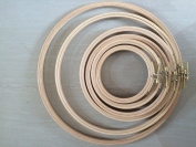 6 Different Sizes/Lot Wooden Embroidery Hoops Hand DIYCross Stitch Embroiderying Tool Household Sewing Tool Economical Kit