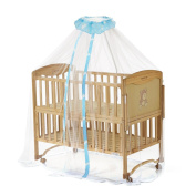Starsource Adorable Mosquito Netting for Baby Cribs