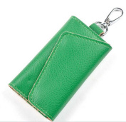 [Mother's Day Gifts for Women] Compact Leather Key Holder Wallet Keychain Key Ring Women Men Key Pouch