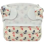Bummis Swimmi Swim Cloth Nappy - Anchors Away -Medium 15 - 22 lbs / 7 - 10 kg
