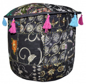 Home Furnishings Living Room Patchwork Ottoman Cover 18 X 46cm X 36cm