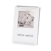Mud Pie Frame Nursery Décor, Hello World Clip