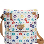Aurielle-Carryland Silk Diamond Logo Signature Crossbody