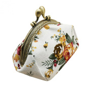 Wallet,toraway Lady Vintage Flower Mini Coin Purse Wallet Clutch bag