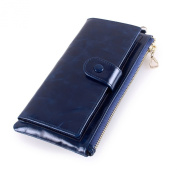 Artmi Womens Clutch Purse Fashion Wallet with ID Window and Multi Card slots