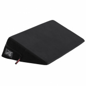 Liberator Wedge Intimate Positioning Pillow, Plus-Size (80cm ), Black
