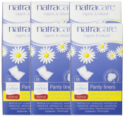 Natracare Normal Wrapped Panty Liners, 18 Count, 6 Pack