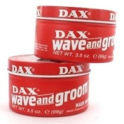 Dax Wax Red Wave And Groom Twin Pack