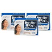 Breathe Right Nasal Strips Tan Large Triple Pack