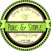 Shaving Soap of the Gods Pure & Simple 120ml