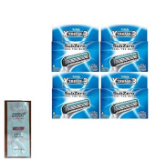Schick Xtreme3 Subzero Razor Blade Refills - 4 ct. (Pack of 4) with FREE Loving Colour trial size conditioner