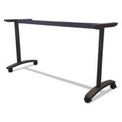 Valencia Series Training Table T-Leg Base, 24-1/2w x 19-3/4d, Black