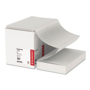 Universal Office Products Green Bar Computer Paper, 8.2kg, 14-7/8 x 8-1/2, Perforated Margins, 2800 Sheets 15781
