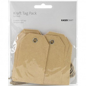 Tag Pack 5.1cm x 8.3cm 12/Pkg
