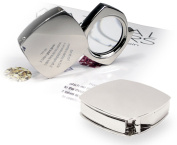 Natico Magnifier in Folding Silver Case