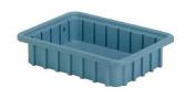 Lewisbins 18kg Capacity, Divider Box, Light Blue DC1025 Blue