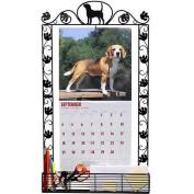 Beagle Metal Calendar Frame by DogBreedStore.com